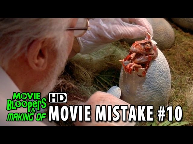 Jurassic Park (1993) movie mistake #10