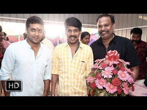 Surya & Venkat Prabhu put poojai for next film |நாங்க சொல்லல்ல
