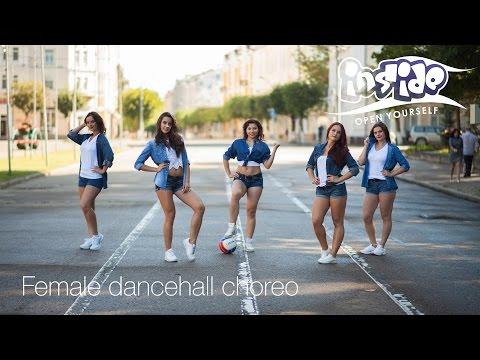 Female dancehall choreo by Natali | Inside dance studio | Смоленск