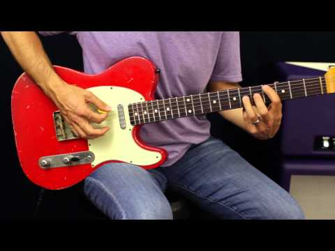 Learn Blues Soloing - Guitar Lesson - Mixing Major And Minor Pentatonic Scales