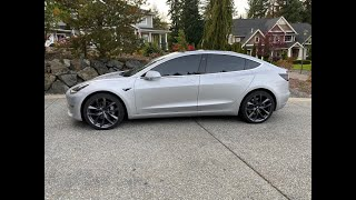 Tesla Model 3 Long Range RWD - 13,000 mile check-in from real owner