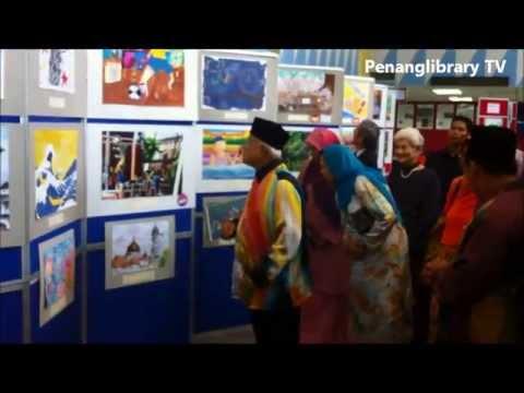 Perasmian Pameran Seni Lukis Pelajar - Pelajar Malaysia & Jepun