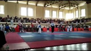 Taekwondo kodim banda aceh. ari 10thn/biru(iyos 23/4/2016)