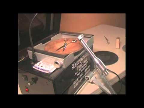barber clipper blade sharpening machine