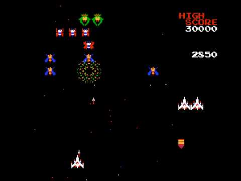 Galaga - Galaga (NES) - Vizzed.com Play - User video