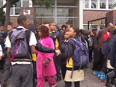 Pupil shot outside school, dies