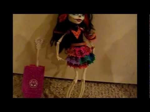 My Review Of Monster High Doll Skelita Calaveras!