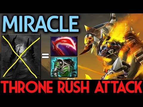 Miracle- Dota 2 [Clinkz] Throne Rush Attack