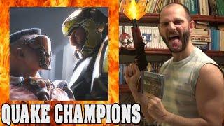 ¡¡¡VUELVE EL INFIERNO CON QUAKE CHAMPIONS!!! - Sasel - Bethesda - Quake 3 - Español - Trailer