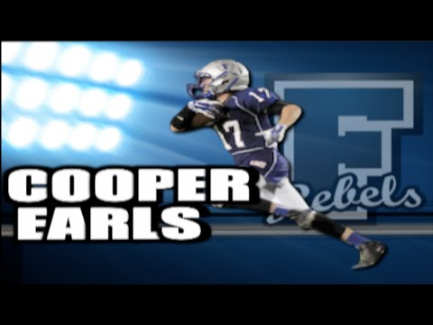 Cooper Earls – 2017 WR - Fannin County HS, Blue Ridge, GA (Photo courtesy of UTRhighlightvideos - Youtube)