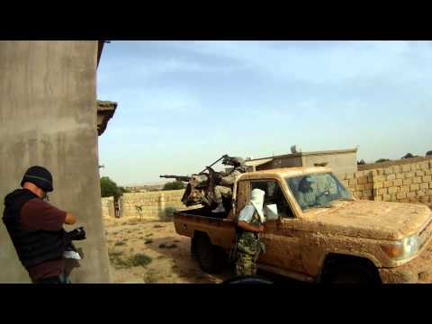 Libyan Civil War - Battle for Galaa/Sofitt Hill (near Zintan) Part 2