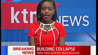 BREAKING NEWS: 4 Storey building collapses in Ruai