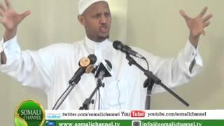 RAMADAANKA SH  SACIID RAAGE NAIROBI 20 07 2014 SOMALI CHANNEL