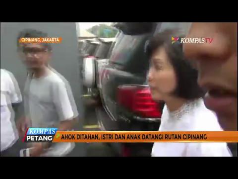 Veronica Tan dan Sean Kunjungi Ahok di Cipinang