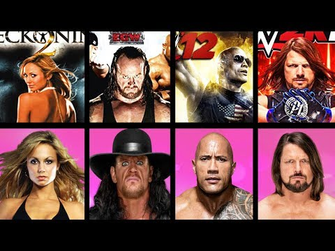 WWE Video Game Cover Athletes Overall Ratings (WWE HCTP - WWE 2K19)