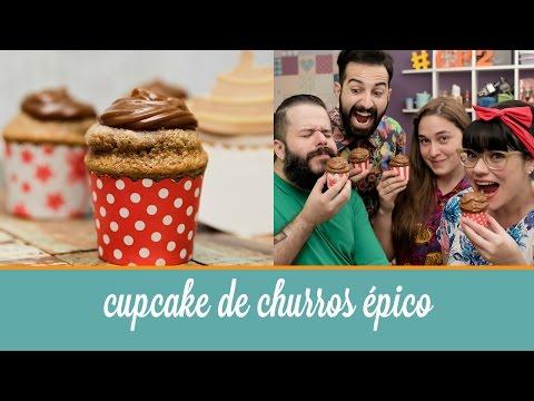 Cupcake de Churros Épico | Cozinha para 2