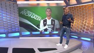 Globo Esporte | CR7 em Turim e festa na França | 16/07