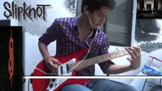 slipknot - The devil in I (guitar cover) :D