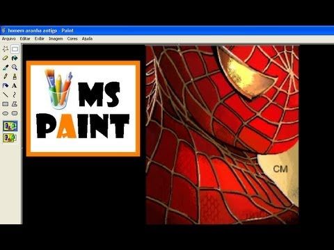 Drawing Gogeta Ssj4 ms Paint Drawing Spider-man in ms Paint