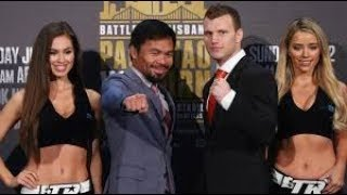 Jeff Horn To Pacquiao After Matthysse Win - Lets Do It Again!