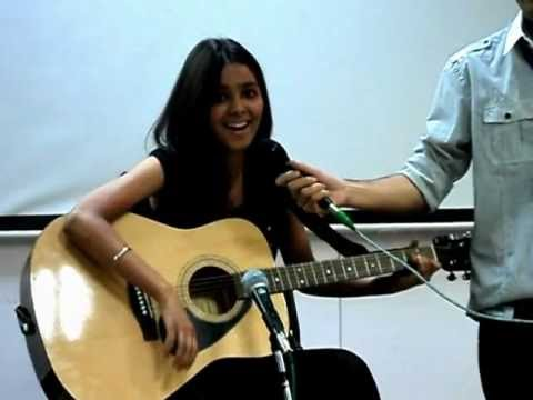 Shraddha Sharma (shraddharockin) Live Performance of Haal-e-...