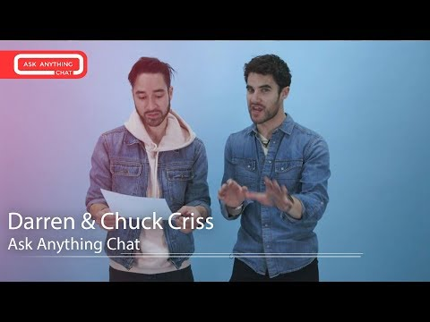 Darren & Chuck Criss On Who Would Win A MMA Fight Between Them & Their