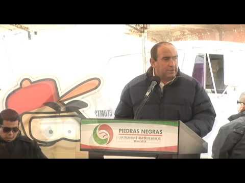 Inicia Rubén Moreira la construcción del Gran Bosque Urbano de Piedras Negras
