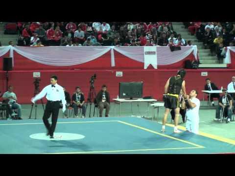 Wushu World Championships 2011 - Sanshou Male Part 1