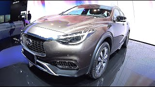 2016, 2017 Infiniti QX30, Luxury Infiniti SUVs video review