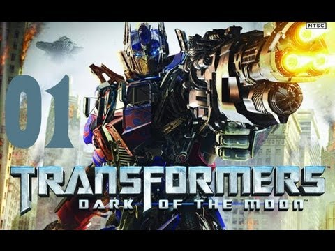 Прохождение Transformers 3: Dark of The Moon [Часть 1]