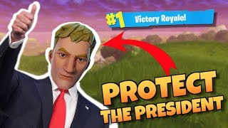 Protect the President - Fortnite Battle Royale