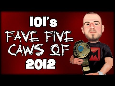 WWE 13 - 101s Fave Five CAWs Of 2012 (Top 5 Countdown)