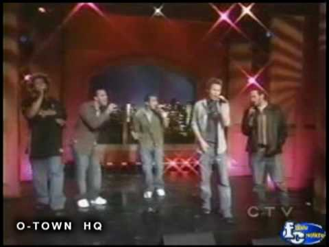 O-Town - I Showed Her live on Regis &amp; Kelly (HQ)