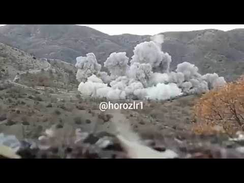 Turkish AF JDAM drop on YPG positions in Afrin