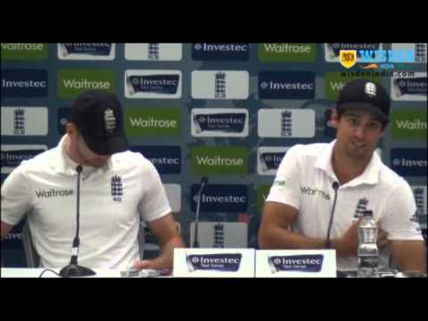 Alastair Cook, James Anderson post match PC, 5h Test, The Oval
