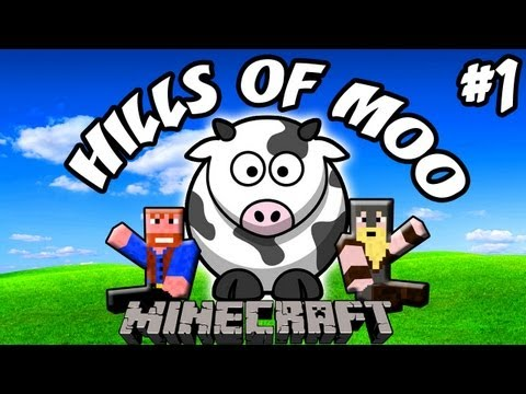 Minecraft: Hills of Moo | Ep.1, Dumb and Dumber