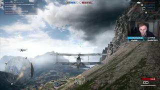 BF1 | Stream Highlight | 164-1 Attack Plane on Operation Iron Walls