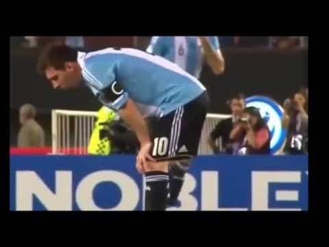 Messi vomiting