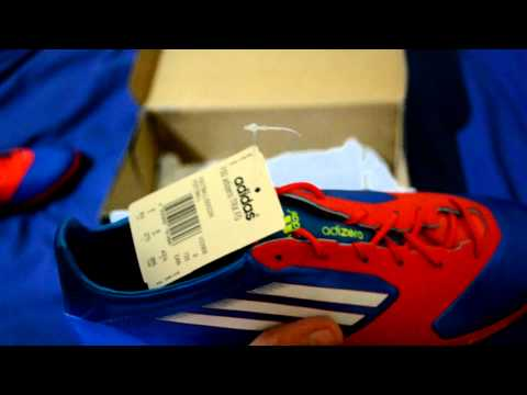 Unboxing Adidas F50 MiCoach Football Soccer Boots Cleats