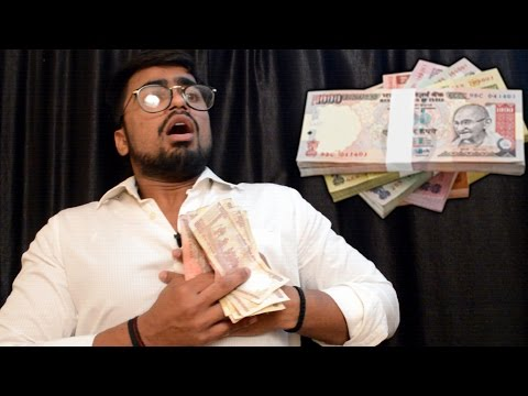 Indian Currency | Modi Ji hits hard at black money | Funny Video