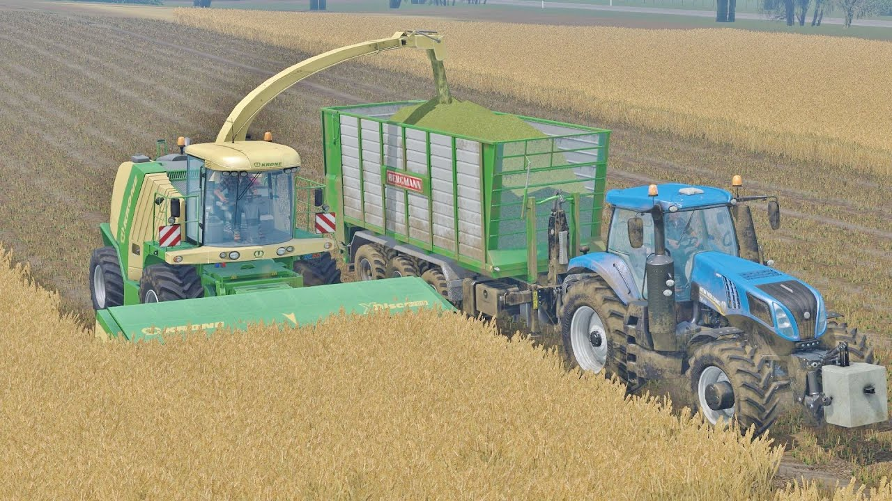 Farm Farming Simulator Farming Simulator 15 Krone Big