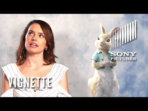 "PETER RABBIT Vignette - Daisy Ridley as ""Cotton-Tail"""
