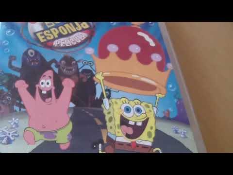 DVDS DE BOB ESPONJA - MI COLECCION (PARTE 1 ).