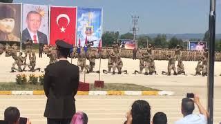 5. Jandarma Alay Komutanlığı Uzman Erbaş Mezuniyet Töreni-2 13 Temmuz 2018