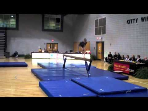 Kathleen York Gymnastics, recruiting video