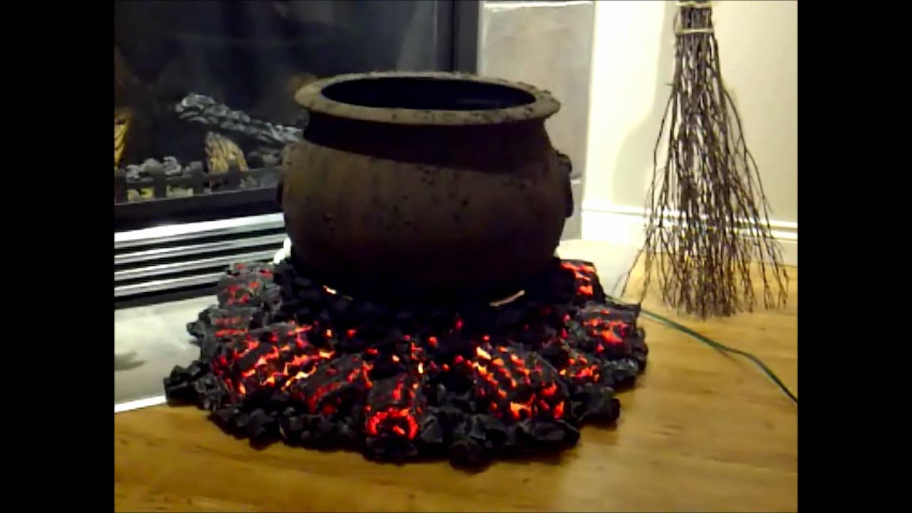 Halloween Fire Pit Halloween Cauldron And Fire
