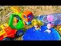 Мультики для малышей Песочница Машинки куклы и песок mp3