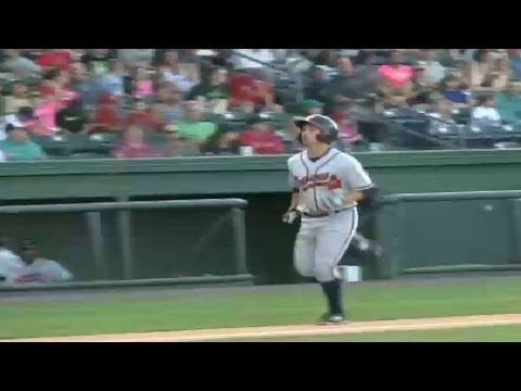 Ross Wilson homers for the R-Braves