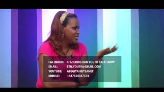1 Timothy 4:12 youth talk show with Designer Sarah