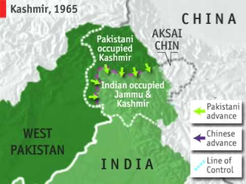 Videographic: India, Pakistan and Kashmir